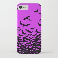 bats iPhone & iPod Cases featuring Bats by beach please