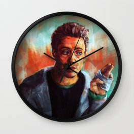 Look up 'idiot' in the dictionary  Wall Clock