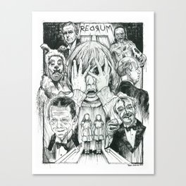 The Overlook Residents Canvas Print