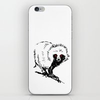 nightcrawler iPhone & iPod Skins featuring Nightcrawler by MARWERT