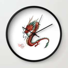 Dragon pure Wall Clock