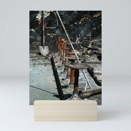Burn Out Mini Art Print