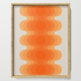 Echoes - Creamsicle Serving Tray