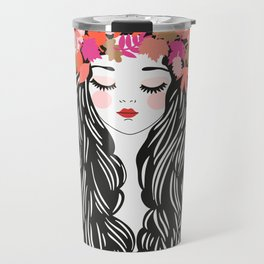 fall wreath Travel Mug