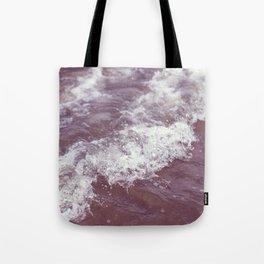 purple ocean Tote Bag