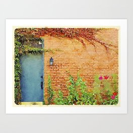 Portsmouth NH Door Art Print