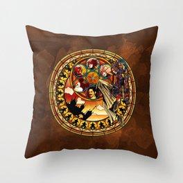 Terra's Awakening Throw Pillow