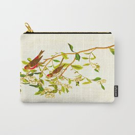 Lesser Red-Poll Bird Carry-All Pouch