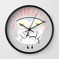warrior Wall Clocks featuring BE BRAVE by Kelli Murray