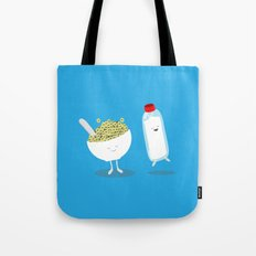Cereal & Milk  Tote Bag