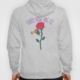 Every Rose Has Its Horn Hoody