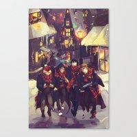 marauders Canvas Prints featuring marauders by viria