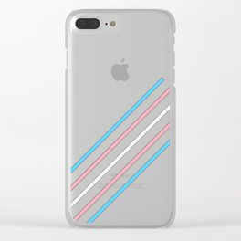 Transcend: On the Rise Clear iPhone Case