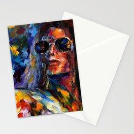 "Micheal Jackson "" MJ ""  Stationery Cards"