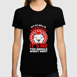 My Pit Bull is harmless T-shirt