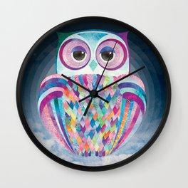Shanti Sparrow: Luna the Owl Wall Clock