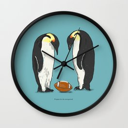 Prepare for the unexpected Wall Clock