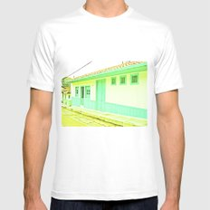 Street, the road Mens Fitted Tee White SMALL