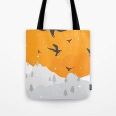 Winter Hills Tote Bag