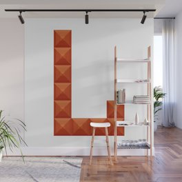 """Letter """"L"""" print in beautiful design Fashion Modern Style Wall Mural"""