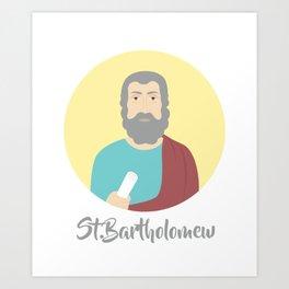 Saint Bartholomew DayMassacre Art Print