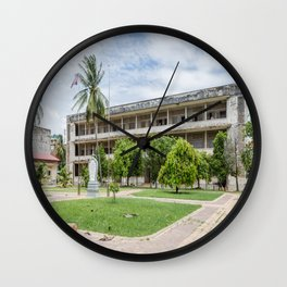 S21 Building C - Khmer Rouge, Cambodia Wall Clock