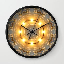 Sunset-in and Out Wall Clock