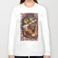 lantern Long Sleeve T-shirts featuring Lantern by John Hansen