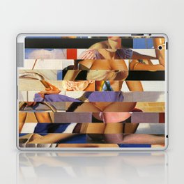 Glitch Pin-Up Redux: Sophia Laptop & iPad Skin
