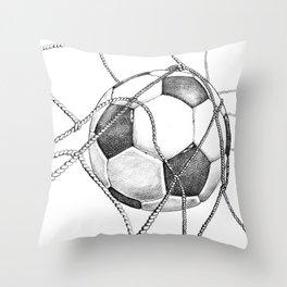 Goal! Throw Pillow