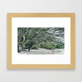 Jeremiah 17 7 8 Framed Art Print