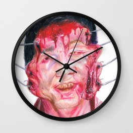 Jesus Wept Wall Clock