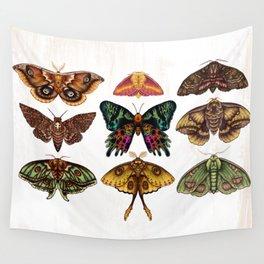 Moth Wings III Wall Tapestry