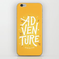 Adventure Awaits iPhone & iPod Skin