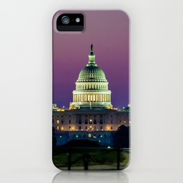 Dawn on The Hill iPhone Case