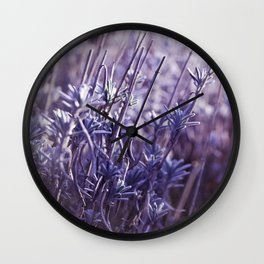 Heavenly blue Wall Clock