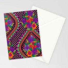 Ivy Purple Stationery Cards