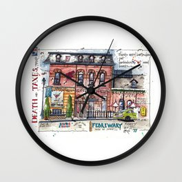 Death and Taxes - Toronto Wall Clock