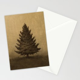 Lonely Pine  Stationery Cards