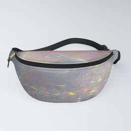 Seashell with water and sparkles Fanny Pack