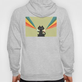 Ray gun cat Hoody