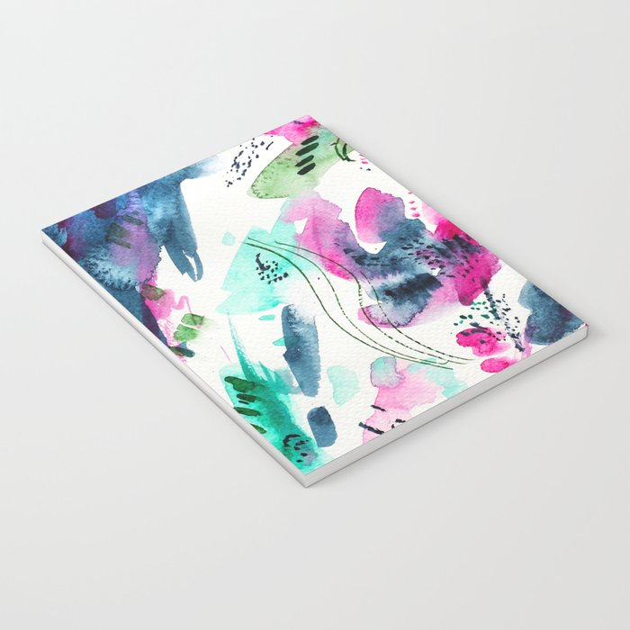 Floral abstraction #2 || watercolor Notebook