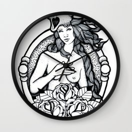 A Passing Glance Wall Clock