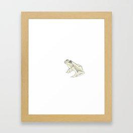Solo Coqui Framed Art Print