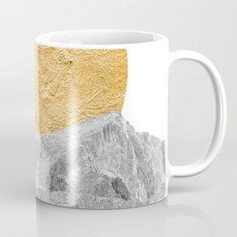Modern Abstract - Sun and Mountains Coffee Mug
