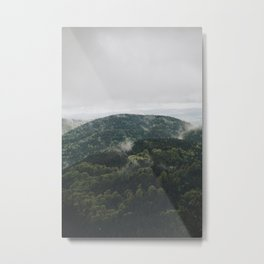 The mountain is breathing Metal Print
