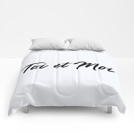 67. You and Me Comforters