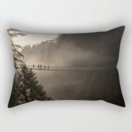 Capilano Bridge Rectangular Pillow