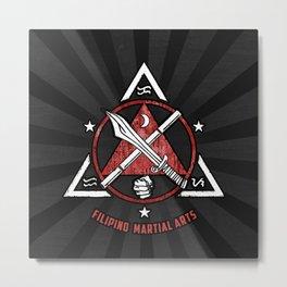Filipino Martial Arts, Kali - Eskrima - Arnis, FMA Metal Print