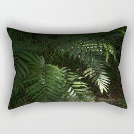 Heavy Leaves Rectangular Pillow